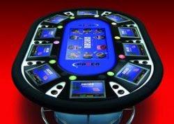 Distribuidor Mesa Juego Casino