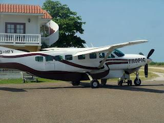 Tropic Air Plane Cessna Caravan Belize