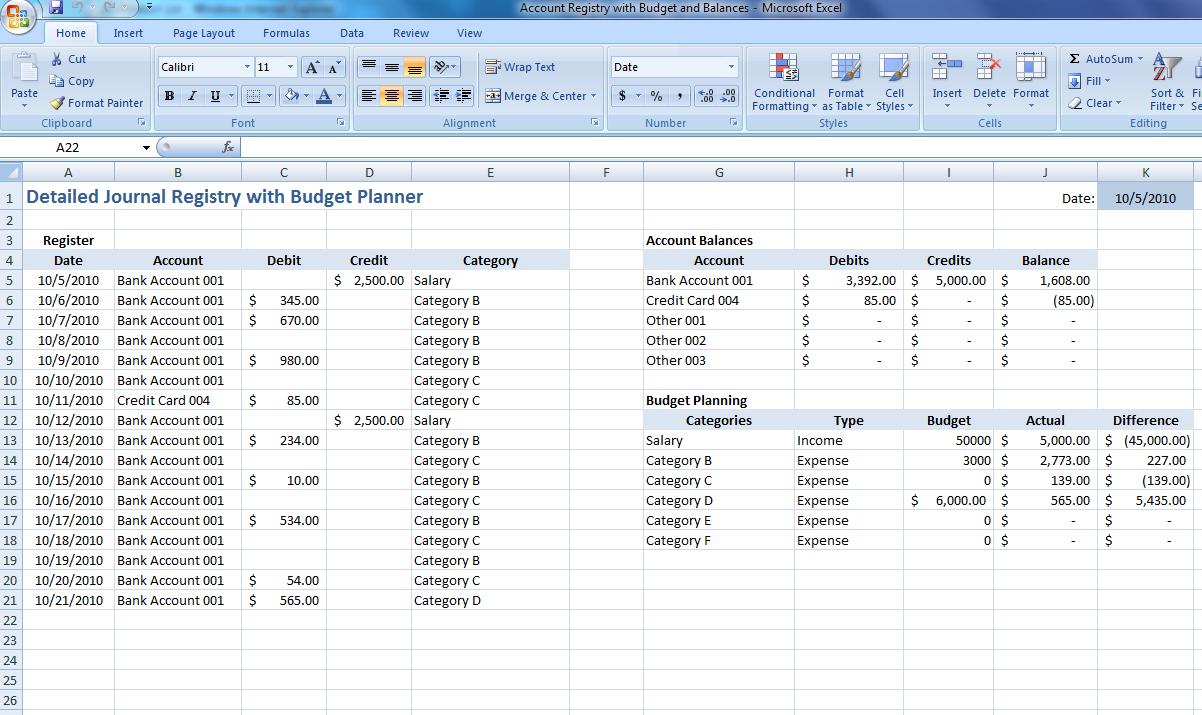 Family Budget Template. budgets cash flow budgets marketing ...