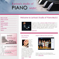 Larissa's Studio of Piano Music