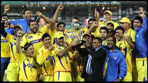 Ipl Twenty20 Cricket Champions League T20 Chennai Super