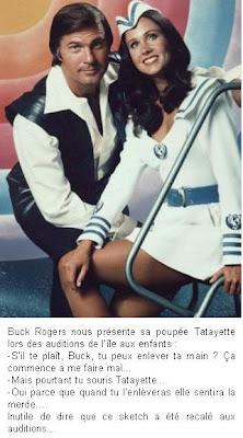 Buck Rogers rend jaloux toutes les filles et le grenier de LACN