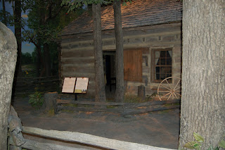 Lincoln's cramped little cabin