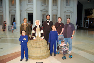 Gee, Lincoln's taller than me!