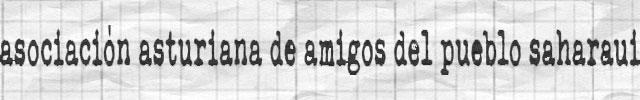 Asociación Asturiana de Amigos del Pueblo Saharaui