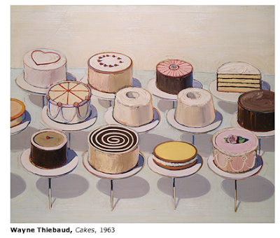 wayne thiebaud paintings. And here#39;s a Thiebaud painting