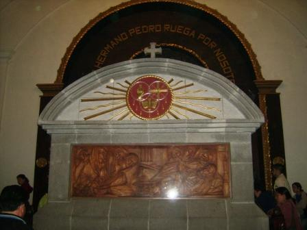 Tumba del Santo Hermano Pedro
