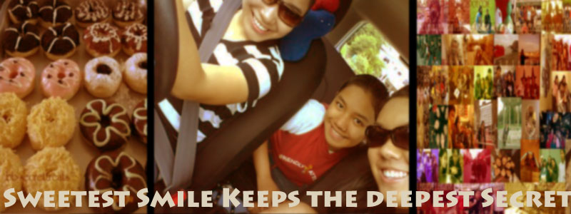 Sweetest smile keeps the deepest secret