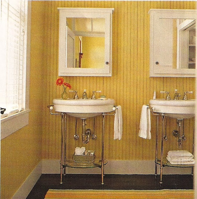 Beadboard Over Tile In Bathroom: Design Dump: Bead Board Bathrooms