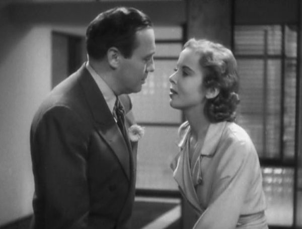 Jack Benny and Ida Lupino in Artists and Models