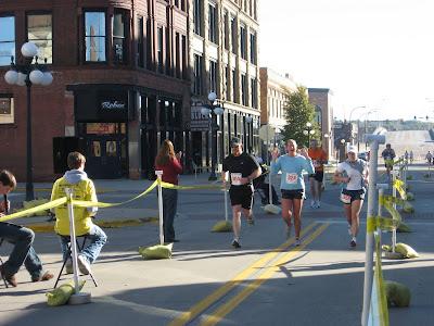 fat people running marathons