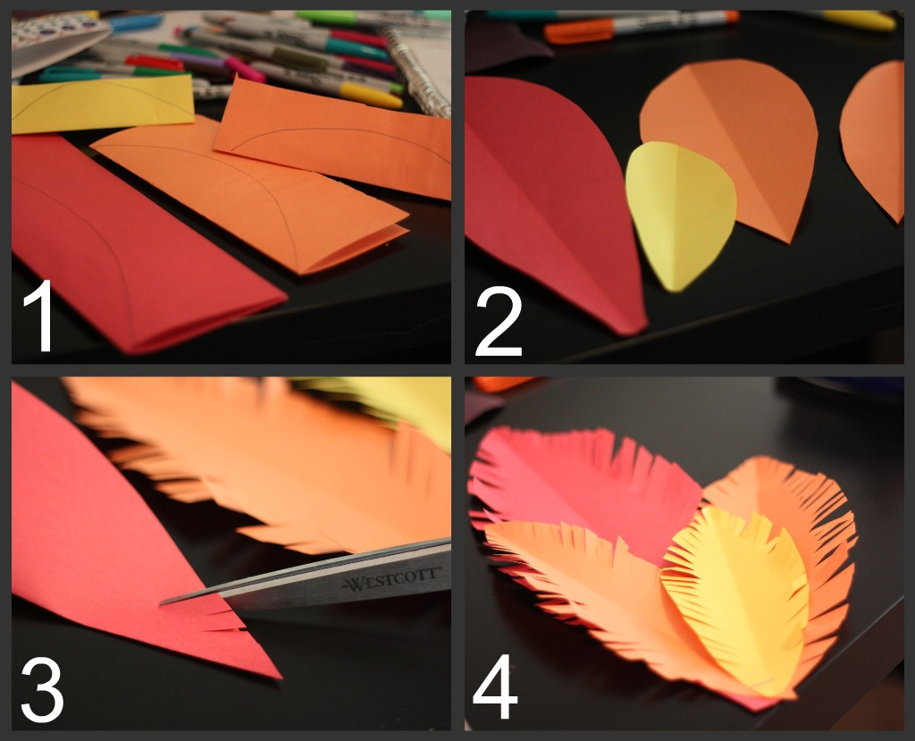 how to make waves out of construction paper