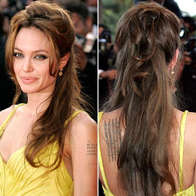 angelina jolie tattoos in wanted. angelina jolie tattoos from