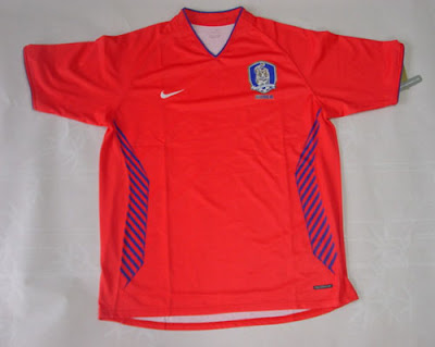 Korean National Team Soccer Shirts