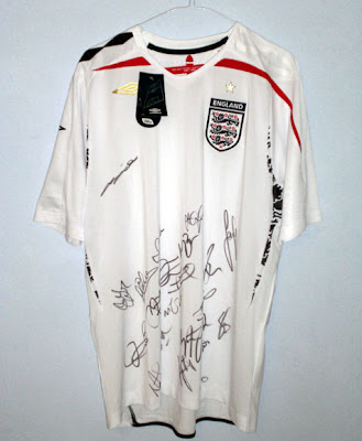 Signed England Shirt