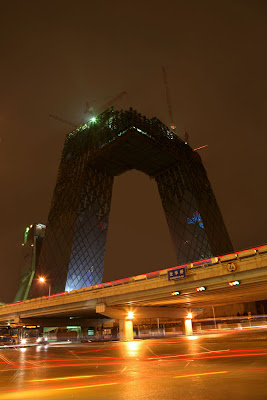 CCTV Tower Construction, Beijing, China