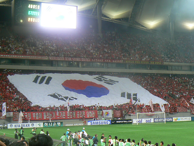 Seoul World Cup Stadium says goodbye to the national team