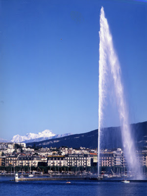 Jet D'Eau, Geneva, Switzerland