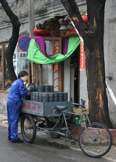 Delivering winter coal- Beijing