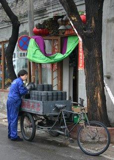 Delivering winter coal- Beijing