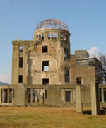 The atomic dome in Hiroshima
