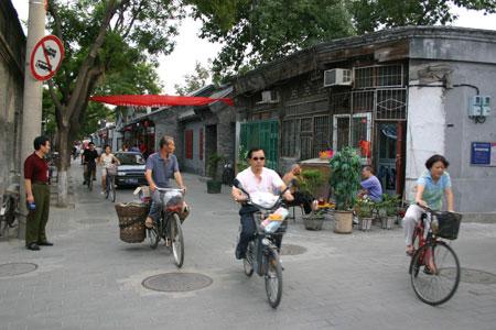 Hutong street life, Beijing