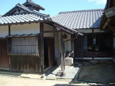 Takayoshi Kido Residence, Hagi, Yamaguchi Prefecture.