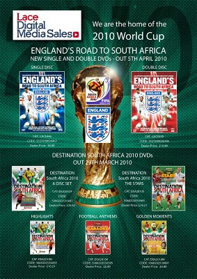 England World Cup DVDs