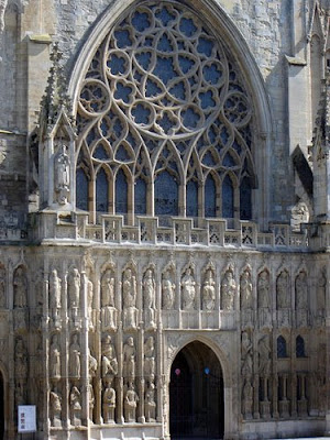 Great West Front, Exeter Cathedral, Exeter, Devon
