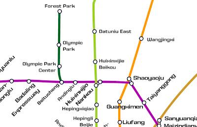 Beijing Subway Line 8