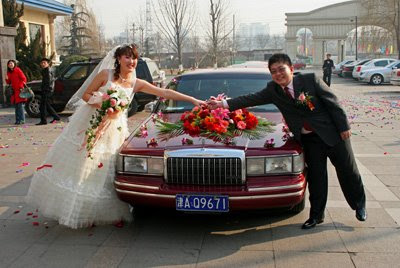 Chinese Rush To Have Olympic Wedding