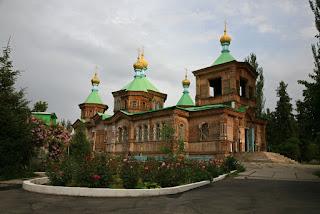 Karakol Cathedral, Kyrgyzstan