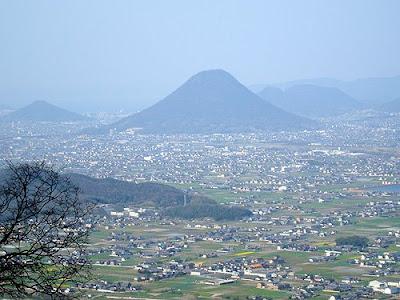 The view from the top, Kompira-san Kotohira