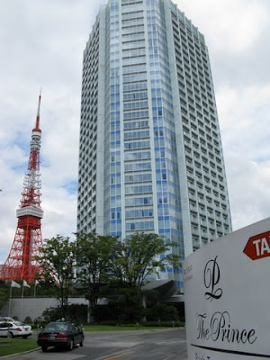 Prince Hotel with Tokyo Tower in the background