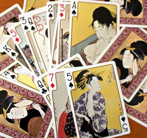 Japanese Ukiyoe Playing Cards