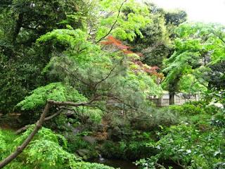 Shimizudani Park, Chiyoda ward, Tokyo.
