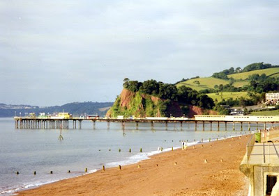 Holidays in Devon, Teignmouth Pier
