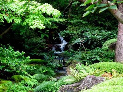 Yuushien Garden, Shimane, Japan.