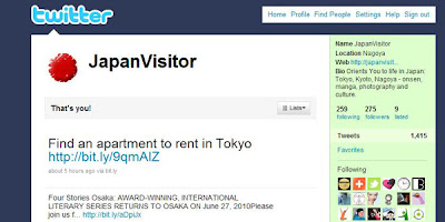 JapanVisitor on Twitter