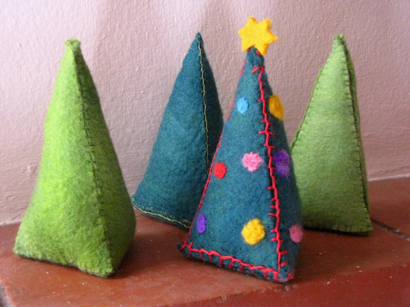 Felt Christmas Tree Pattern.Felt Christmas Tree Tutorial Natural Suburbia
