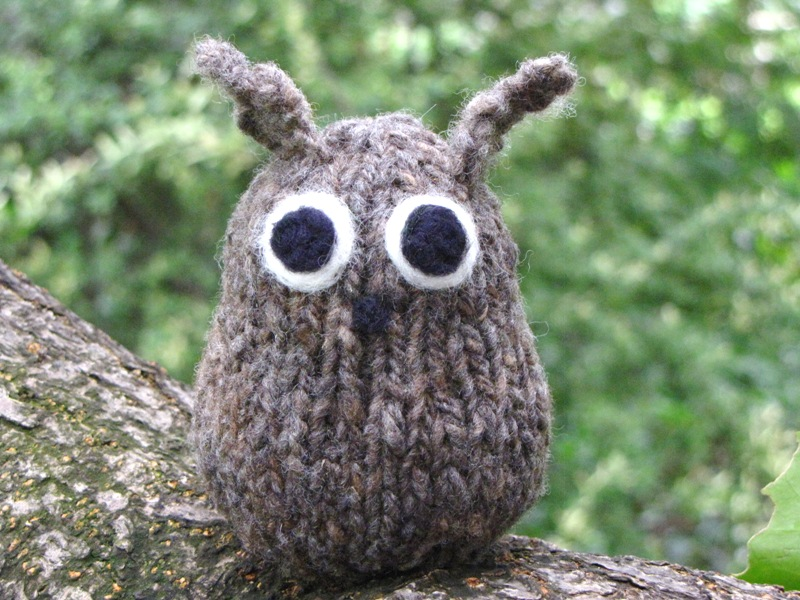 Knitted Owl Pattern Tutorial Natural Suburbia