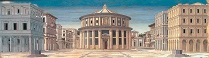 Piero della Francesca (?). La città ideale