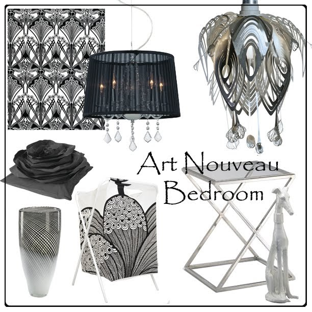 Art Nouveau Bedroom: Flauradesign: Art Nouveau Bedroom
