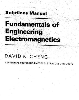 EBOOKS FREE DOWNLOAD: Solution Manual Fundamentals of