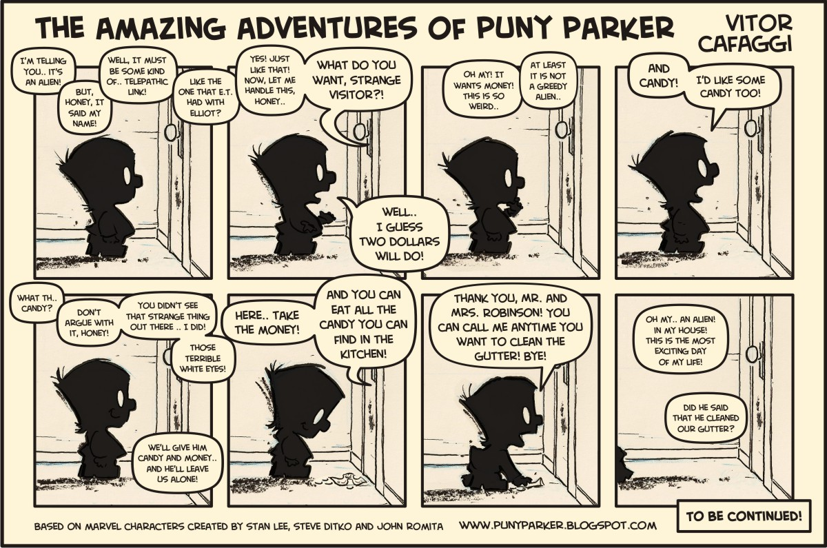 strip puny Comic