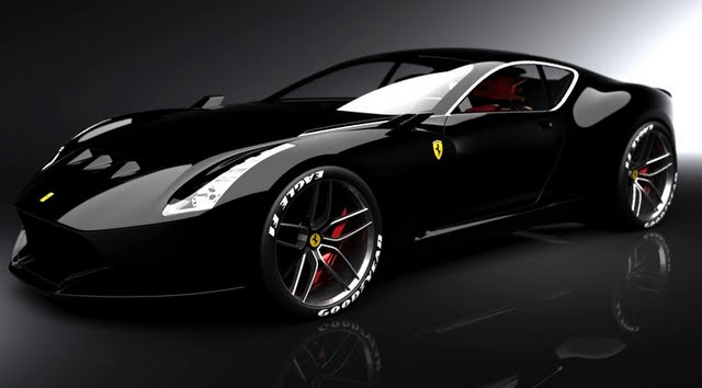 ferrari 612 gto o esportivo conceitual car blog br. Black Bedroom Furniture Sets. Home Design Ideas