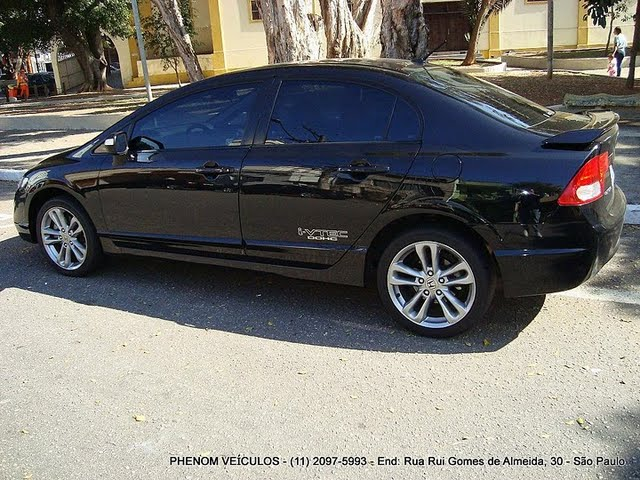 Honda New Civic Si 2007 Oferece Luxo Esportividade E