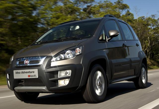 Nova fiat idea 2011 adventure 1 8 16v permite um off road for Fiat idea adventure locker precio