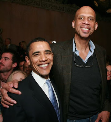 Barack and Kareem