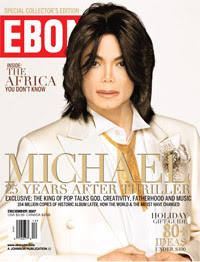 Cover of Ebony mag 12/2007